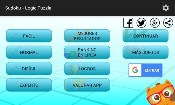 Sudoku - Logic Puzzles captura de pantalla 3