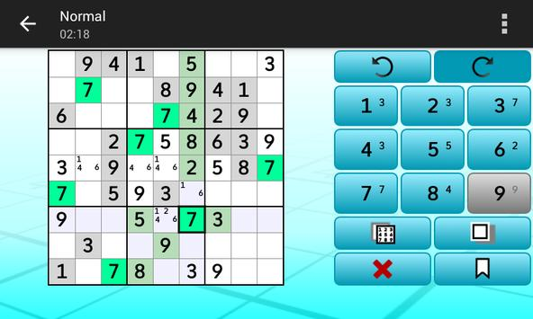 Sudoku - Logic Puzzles captura de pantalla 4