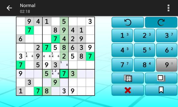 Sudoku - Logic Puzzles syot layar 14