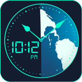 Global World clock-All countries time zones icon