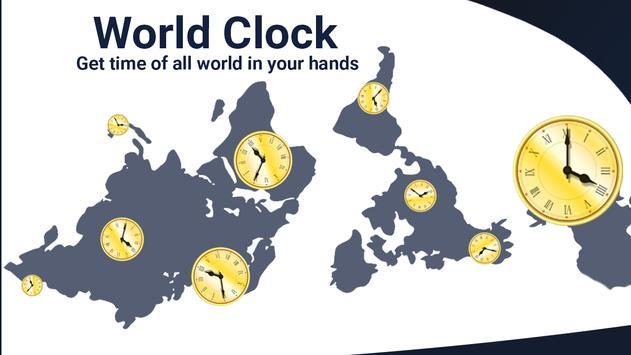 Global World clock-All countries time zones screenshot 4