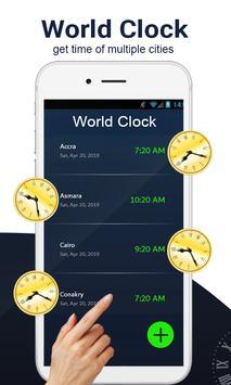 Global World clock-All countries time zones screenshot 1