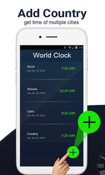 Global World clock-All countries time zones screenshot 2