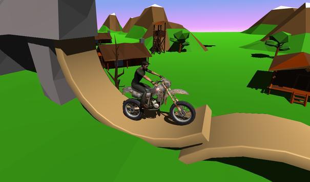 Dirt Bike Rival Racing - Forest Trial Motor screenshot 1
