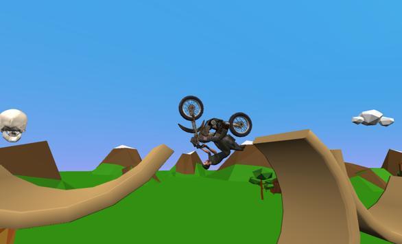 Dirt Bike Rival Racing - Forest Trial Motor screenshot 4