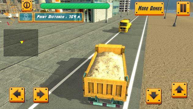 River Sand Excavator Simulator 3D screenshot 7