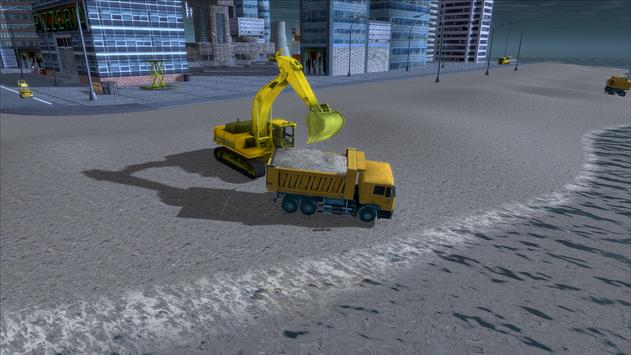 River Sand Excavator Simulator 3D screenshot 2