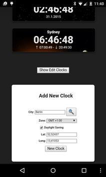 World Clockr Free screenshot 3