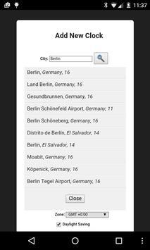 World Clockr Free screenshot 2
