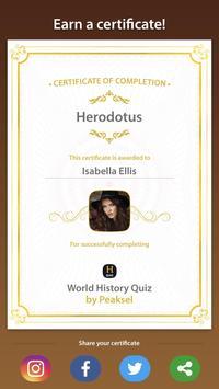 World History Quiz स्क्रीनशॉट 9