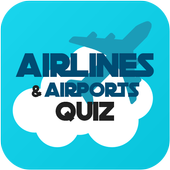 Airlines & Airports: Quiz Game icon