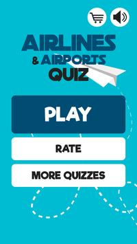 Airlines & Airports: Quiz Game poster