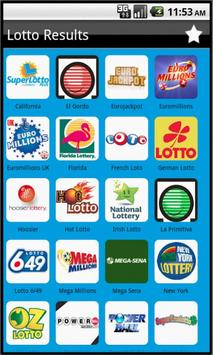 World Lottery Results poster
