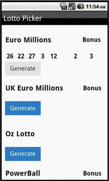 World Lottery Results screenshot 1