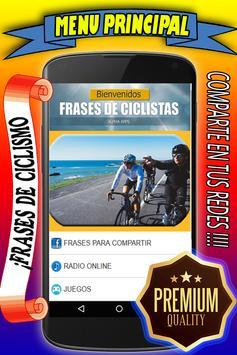 Frases de Ciclismo poster