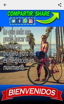 Frases de Ciclismo screenshot 4