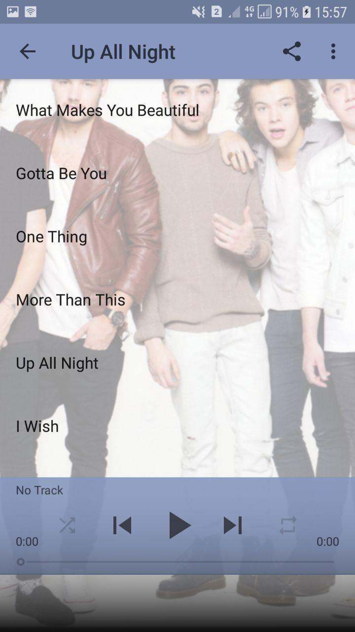 one direction mp3 for Android - APK Download