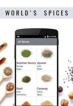 World's Spices screenshot 1