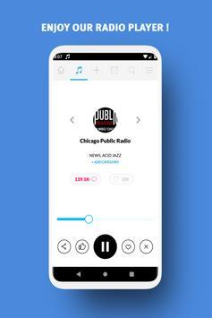 Radio USA -  Free FM Radio App, USA radio stations screenshot 1