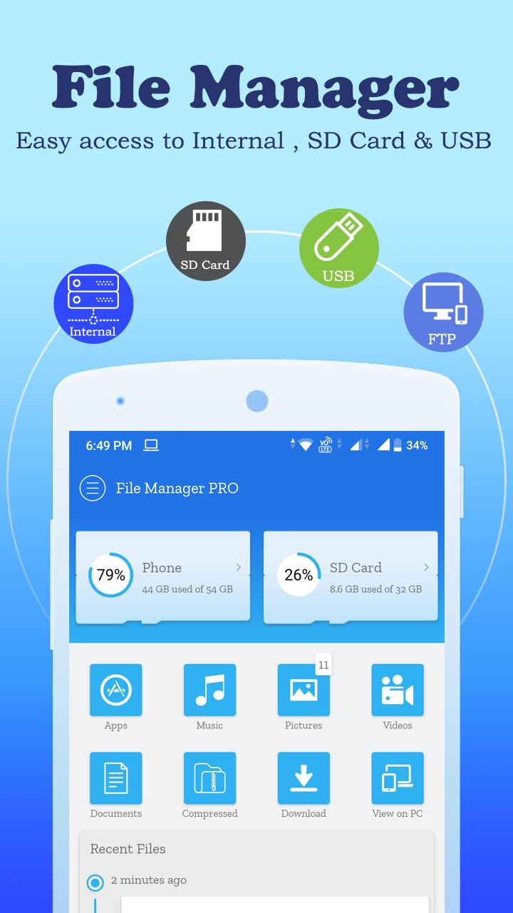 File Manager Explorer 2020 File Browser For Android Apk Download