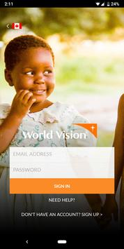 My World Vision poster