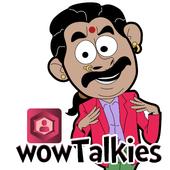 Tamil stickers for WhatsApp, WAStickerApps maker icon