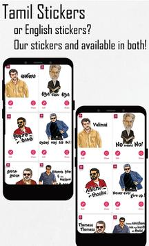 Tamil stickers for WhatsApp, WAStickerApps maker screenshot 3