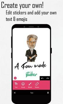 Tamil stickers for WhatsApp, WAStickerApps maker screenshot 4