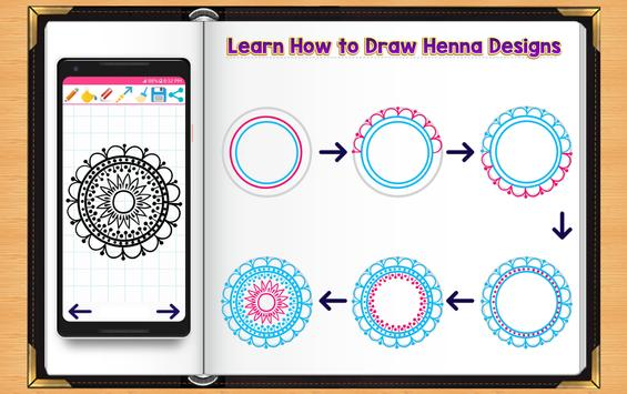 Learn How to Draw Henna Tattoo Designs screenshot 1