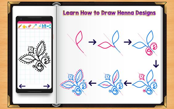 Learn How to Draw Henna Tattoo Designs screenshot 2