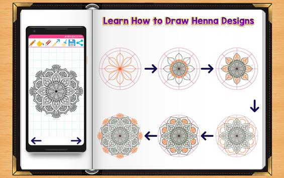Learn How to Draw Henna Tattoo Designs screenshot 5