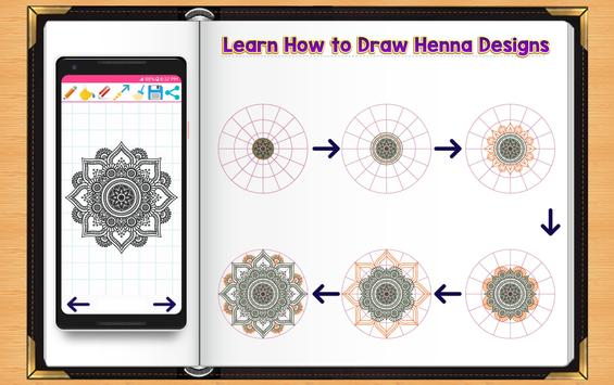 Learn How to Draw Henna Tattoo Designs screenshot 6