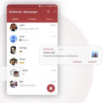 WoWonde Messenger screenshot 2