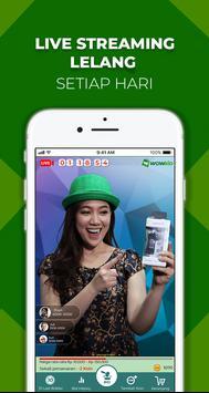 WOWBID: Lelang Live Streaming Pertama di Indonesia ảnh chụp màn hình 4