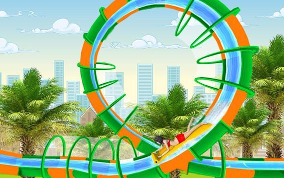 Water Slide Spooky Stunts : Water Fun Games screenshot 3