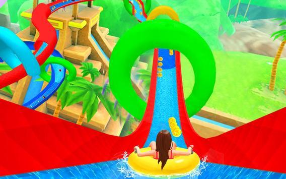 Water Slide Spooky Stunts : Water Fun Games screenshot 10