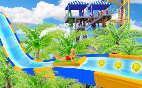 Water Slide Spooky Stunts : Water Fun Games screenshot 17