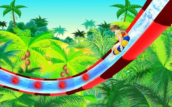 Water Slide Spooky Stunts : Water Fun Games screenshot 1
