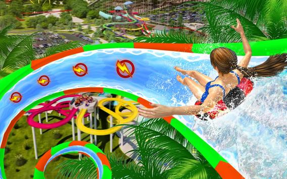 Water Slide Spooky Stunts : Water Fun Games screenshot 12
