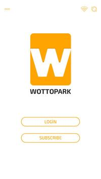 Wottopark Mobile Parking and Valet Parking System poster