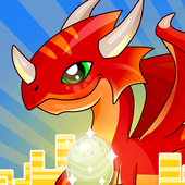 IDLE DRAGON WORLD:FUN GAME icon