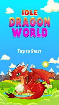 IDLE DRAGON WORLD:FUN GAME poster