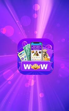 WOW Reward - View Share Videos Photos & Get Reward poster