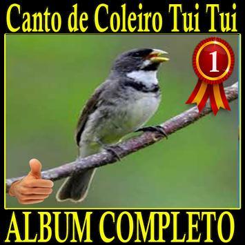 Canto de Coleiro Tui Tui album canto de pássaros screenshot 2
