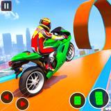 Impossible GT Bike Stunt Racing: Ramp Bike Games