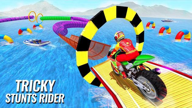 GT Bike Stunt Racing : Mega Ramp Impossible Stunts screenshot 1