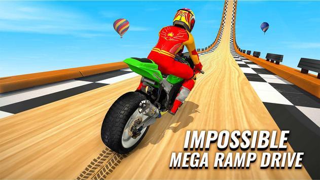 GT Bike Stunt Racing : Mega Ramp Impossible Stunts screenshot 12