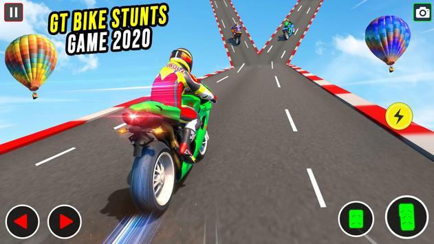 GT Bike Stunt Racing : Mega Ramp Impossible Stunts screenshot 16