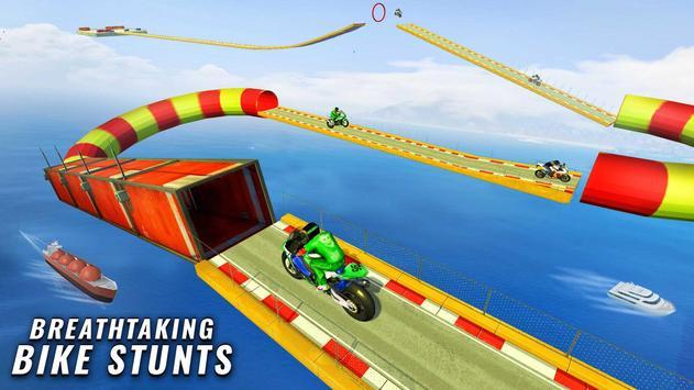 GT Bike Stunt Racing : Mega Ramp Impossible Stunts screenshot 3