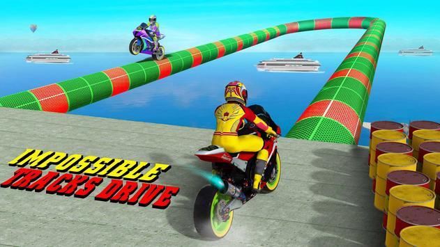 GT Bike Stunt Racing : Mega Ramp Impossible Stunts screenshot 14